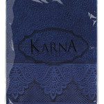 Полотенце для ванной Karna SIESTA хлопковая махра синий 70х140, фото, фотография