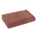 Полотенце для ванной Karna SIESTA хлопковая махра кирпичный 40х60, фото, фотография