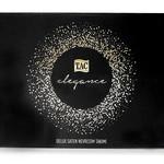 Постельное белье TAC ELEGANCE NICOLE хлопковый сатин делюкс белый, лиловый евро, фото, фотография