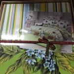 Постельное белье Le Vele DOGA хлопковый сатин делюкс зелёный евро, фото, фотография