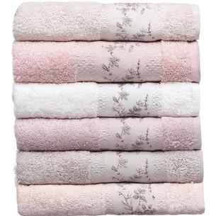 Набор полотенец для ванной 6 шт. Pupilla RONESANS 70х140