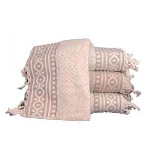 Набор полотенец для ванной 4 шт. Pupilla IBIZA хлопковая махра 70х140