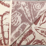 Махровая простынь для укрывания Pupilla LAGUN хлопок красный 220х240, фото, фотография