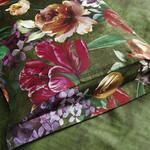 Постельное белье Karna EXCLUSIVE ROZENA хлопковый сатин семейный, фото, фотография
