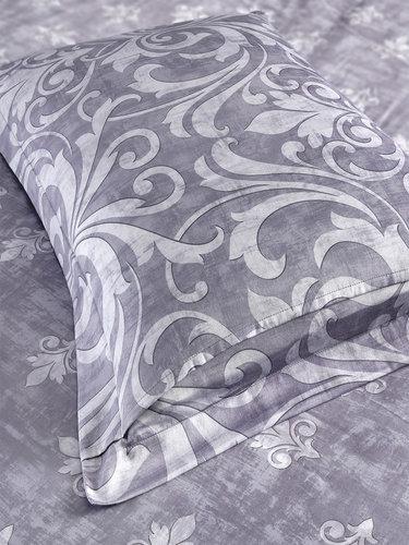 Постельное белье Karna EXCLUSIVE VENETO хлопковый сатин семейный, фото, фотография