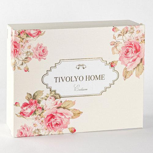 Махровая простынь-покрывало для укрывания Tivolyo Home LORI хлопок розовый 160х220, фото, фотография