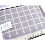 Махровая простынь-покрывало для укрывания Tivolyo Home CHANEL хлопок лиловый 160х220, фото, фотография