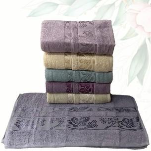 Набор полотенец для ванной 6 шт. Efor CINAR хлопковая махра 50х90