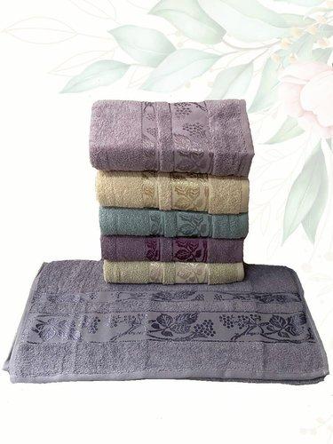 Набор полотенец для ванной 6 шт. Efor CINAR хлопковая махра 70х140, фото, фотография