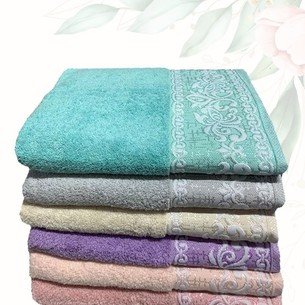 Набор полотенец для ванной 6 шт. Efor DANTEL хлопковая махра 50х90
