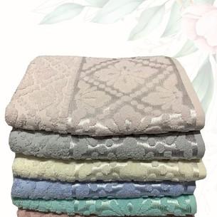 Набор полотенец для ванной 6 шт. Efor KILIM хлопковая махра 70х140