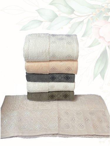 Набор полотенец для ванной 6 шт. Efor MENDER хлопковая махра 50х90, фото, фотография
