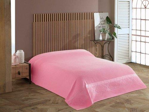 Махровая простынь для укрывания Efor LIVELY хлопок розовый 160х220, фото, фотография
