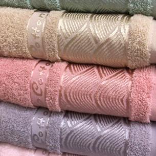 Набор полотенец для ванной 6 шт. Cestepe VIP COTTON LINES хлопковая махра 70х140