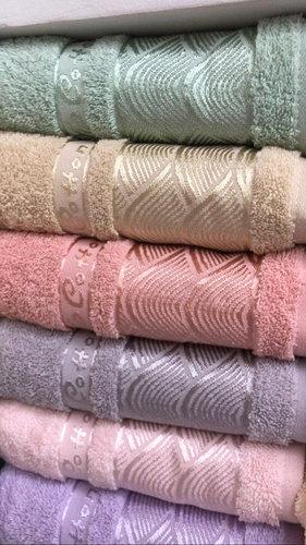 Набор полотенец для ванной 6 шт. Cestepe VIP COTTON LINES хлопковая махра 70х140, фото, фотография