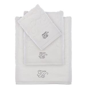 Подарочный набор полотенец для ванной 2 пр. Tivolyo Home BAROC хлопковая махра кремовый