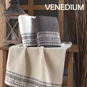 Набор полотенец для ванной 3 шт. Efor VENEDIUM хлопковая махра 50х90