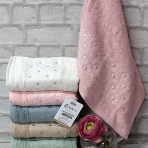 Набор полотенец для ванной 6 шт. Karacan AYTUG хлопковая махра 90х150