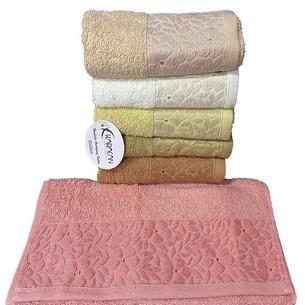 Набор полотенец для ванной 6 шт. Karacan BAHAR хлопковая махра 70х140