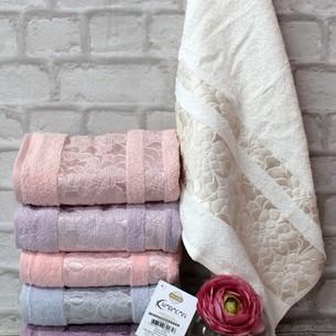 Набор полотенец для ванной 6 шт. Karacan CEYLAN хлопковая махра 30х50