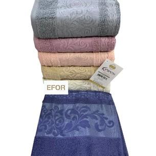 Набор полотенец для ванной 6 шт. Karacan SULTAN хлопковая махра 70х140