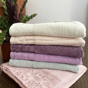 Набор полотенец для ванной 6 шт. Miss Cotton FOR YOU хлопковая махра 70х140