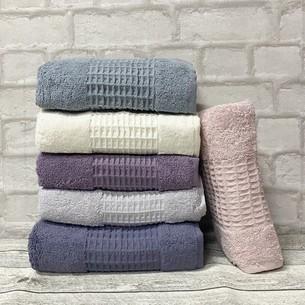 Набор полотенец для ванной 6 шт. Miss Cotton GOFRET хлопковая махра 50х90