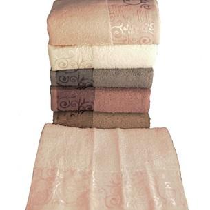 Набор полотенец для ванной 6 шт. Miss Cotton HAZAL хлопковая махра 50х90