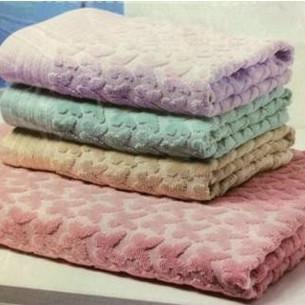 Набор полотенец для ванной 6 шт. Ozdilek ARELLA хлопковая махра лиловый 50х90