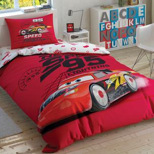 Детское постельное белье TAC CARS SPEED FRENZY хлопковый ранфорс 1,5 спальный