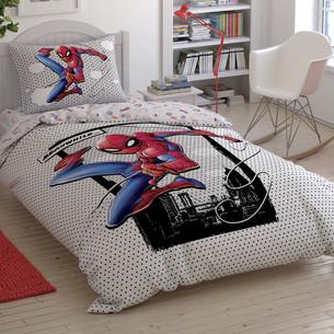 Детское постельное белье TAC SPIDERMAN CLOUDY хлопковый ранфорс 1,5 спальный