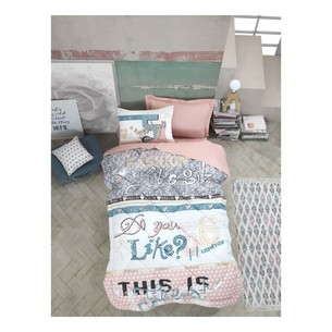 Детское постельное белье Cotton Box GIRLS & BOYS FASHION хлопковый ранфорс пудра 1,5 спальный