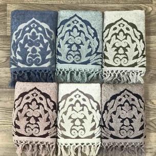 Набор полотенец для ванной 6 шт. Sikel ARYA хлопковая махра 70х140