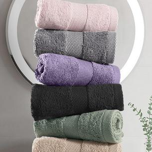 Набор полотенец для ванной 6 шт. Karna AREL махра хлопок ассорти 30х50