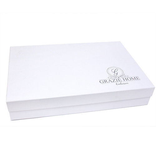 Постельное белье Grazie Home ARIANA хлопковый сатин делюкс ментоловый евро, фото, фотография