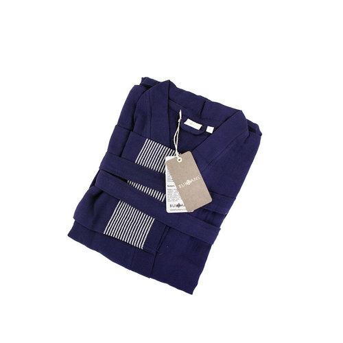 Халат мужской Buldan's SERA хлопок синий L/XL, фото, фотография