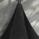 Подарочный набор полотенец для ванной 50х90, 70х140 Karna TIGER хлопковая махра черный, фото, фотография