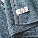 Подарочный набор полотенец для ванной 50х90, 70х140 Karna IVORY хлопковая махра нефть, фото, фотография