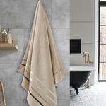 Полотенце для ванной Karna CLASSIC хлопковая махра бежевый 70х140, фото, фотография