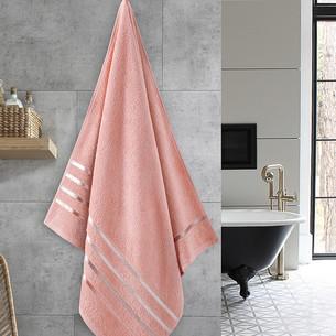 Полотенце для ванной Karna CLASSIC хлопковая махра абрикосовый 70х140