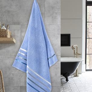 Полотенце для ванной Karna CLASSIC хлопковая махра голубой 70х140