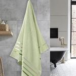 Полотенце для ванной Karna CLASSIC хлопковая махра светло-зеленый 70х140, фото, фотография