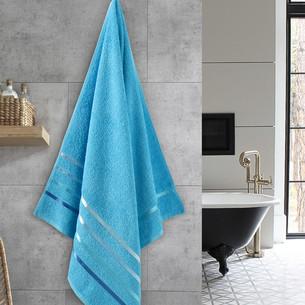 Полотенце для ванной Karna CLASSIC хлопковая махра бирюзовый 70х140