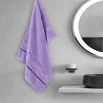 Полотенце для ванной Karna CLASSIC хлопковая махра cиреневый 50х80, фото, фотография