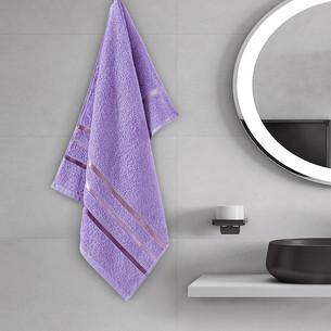 Полотенце для ванной Karna CLASSIC хлопковая махра cиреневый 50х80