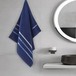 Полотенце для ванной Karna CLASSIC хлопковая махра cиний 50х80, фото, фотография
