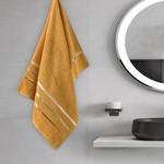 Полотенце для ванной Karna CLASSIC хлопковая махра темно-желтый 50х80, фото, фотография