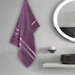 Полотенце для ванной Karna CLASSIC хлопковая махра лавандовый 50х80, фото, фотография