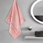 Полотенце для ванной Karna CLASSIC хлопковая махра абрикосовый 50х80, фото, фотография