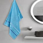 Полотенце для ванной Karna CLASSIC хлопковая махра бирюзовый 50х80, фото, фотография
